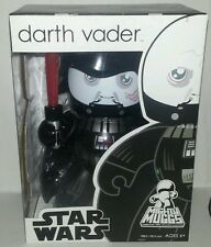 "Star Wars DARTH VADER Mighty Muggs 6"" Vinyl Figure Unmasked BRAND NEW in Box"