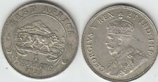 British East Africa GEORGIUS V One  Shilling Argent 1925  Exemplaire N° 1