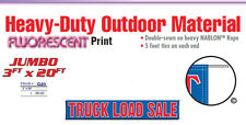 TRUCK LOAD SALE Banner Sign freight clearance auction bid flea market produce