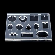 12 Designs Cabochon Silicon Mold Mould For Epoxy Resin Jewelry Making DIY Craft