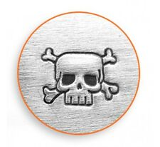 Skull and Crossbones ImpressArt Design Stamp For Making Hand Stamped Jewelry
