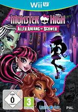 Nintendo wii u Jeu: Monster High de tous les début est... wiiu NOUVEAU & OVP