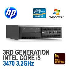 HP Compaq 8300 Elite SFF Desktop PC (Core i5-3470 3.2 GHz, 8 GB, 500 GB, Win 7)