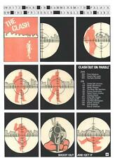 CLASH POSTER. WHITE MAN IN HAMMERSMITH PALAIS. Joe Strummer, Punk.