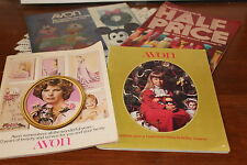 AVON..LOT OF 4  CATALOGUES...1969, '70',73, '75..CAMPAIGNS 23, 26,19, 16