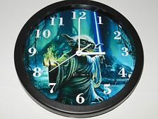 Star Wars Yoda 10 Inch Plastic Wall Clock