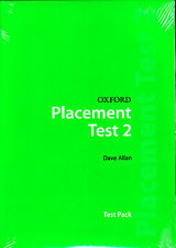 OXFORD PLACEMENT TEST 2: Test Pack / DAVE ALLAN @BRAND NEW, SEALED@