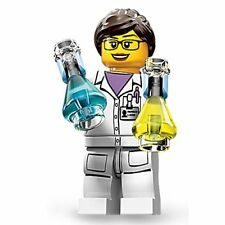 New Genuine LEGO Female Scientist Minifigure Series 11 71002 CMF