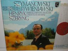6500 421 Szymanowski & Wieniawski Concertos Henryk Szeryng Bamburg Sym Orc Krenz