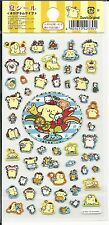 Sanrio Pom Pom Purin Stickers Hologram Summer