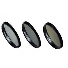 Vivitar Filter Kit UV Circular Polarizer Intensifier Warming Olympus 17mm 2.8 37