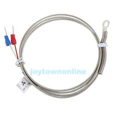 1m High Temperature Sensor 0-600 Degree K Type 5mm Gasket Thermocouple