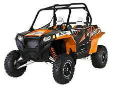 Pro Armor Graphics Kit Orange Madness Cut Outs Polaris RZRS RZR-S RZR S 12 2012