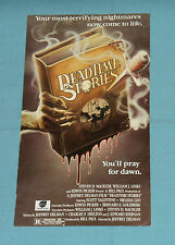 vintage Continental Video DEADTIME STORIES ADVERTISING POSTCARD