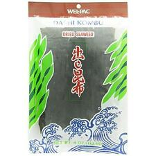 Welpac Dashi Kombu Dried Seaweed 4 oz New