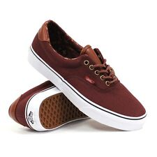 Vans Era 59 (C&L) Bitter Chocolate/Tribe Rug Men's Classic Skate Shoes SIZE 12
