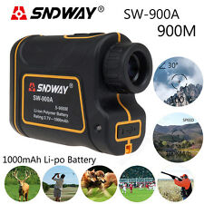 SNDWAY For Sports 900M Angle Meter Speed Measurer Telescope 8X Laser Rangefinder
