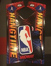 NBA Hangtime Arcade Side Art Artwork Decal Overlay Sticker Vinyl Midway