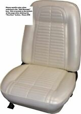 1967 1968 Pontiac Firebird, Trans Am Bucket Seat covers