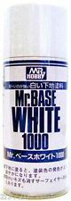 Mr Hobby Base Surfacer White 1000 180ml Spray B518 Gunze GSI Creos Paint Primer