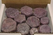 Ruby Sapphire Collection 11 Oz Corundum 10 Crystals Red Pink Purple 02935
