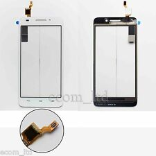 """HUAWEI ASCEND G620s WHITE DIGITIZER TOUCH SCREEN GLASS LENS PAD 5"""" INCH"""