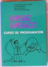 BASIC BÁSICO - CURSO DE PROGRAMACIÓN - VARIOS AUTORES 1985 - VER INDICE