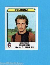 PANINI CALCIATORI 1980/81 - Figurina n.62- BENEDETTI - BOLOGNA -NEW