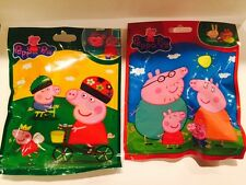 2  NEW PEPPA PIG SURPRISE BLIND BAG WITH FIGURINE & 3 Cards Inside