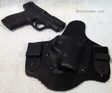 Smith&Wesson M&P Shield IWB Conceal holster CCW S&W M&P Kydex Leather hybrid
