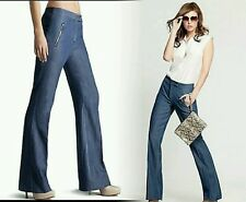 NWT $169 Guess by Marciano Jeans Rosa Relaxed Straight Leg Trouser pants sz 6