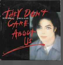 CD SINGLE 2 TITRES--MICHAEL JACKSON--THEY DON'T CARE ABOUT ME--1996