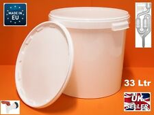33L FERMENTATION BUCKET WITH AIRLOCK & TAP HIGH QUALITY