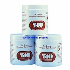Y-10 Fibreglass Stain Remover Used Extensively In The Marine Industry 340gm Pot