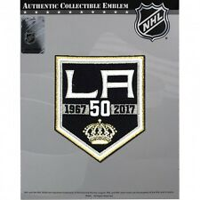 NHL LAOS ANGELES KINGS  50th ANNIVERSARY PATCH 2016/17