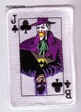 PARCHE BATMAN JOKER CARTA  PATCH