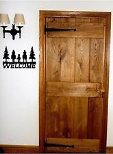 WELCOME Horses Cowboys Wall Sticker Wall Art Decor Vinyl Decal Stickers