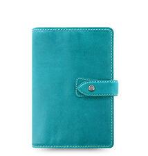 Filofax Malden Organizer Personal - Kingfisher Blue - 026026 - 100% Leather