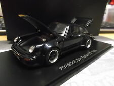 PORSCHE 911 Turbo 3.3 blue dark blau G-Modell 930 Coupe Kyosho limited 1:43