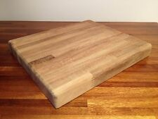 "SALE Professional Chef Grade Cutting Chopping Board Teak Antimicrobial 15"" x 12"""