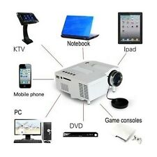 Mini Home Cinema Theater 1080P HD Multimedia USB LED Projector AV TV VGA HDMI MT