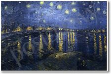 Starry Night over the Rhone - 1888 - by Vincent Van Gogh - NEW Art Print POSTER