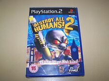 Destroy All Humans 2 PS2  ** New  & Sealed **