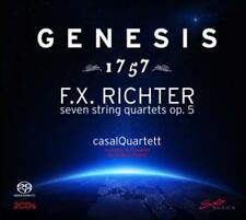 Casalquartett - F.X.Richter:Genesis [Sacd] - CD