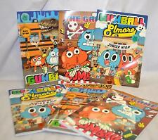 6PZ.QUADERNI MAXI, RIGATURA 1°-2° ELEMENTARE,THE AMAZING WORLD OF GUMBALL SCUOLA