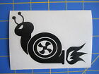 JDM Boosted Turbo Snail Vinyl Decal - Sticker 3x4 - Any Color