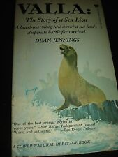VALLA: The Story of a Sea Lion by DEAN JENNINGS TOWER BOOKS Paperback 1959