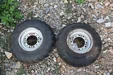 H2 BOTH WHEEL RIMS 23x7-10 ATV QUAD FREE SHIP HONDA YAMAHA KAWASAKI POLARIS