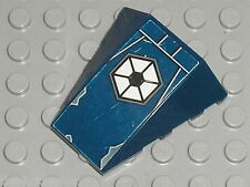 LEGO NavyBlue wedge ref 47753 + Stickers /set 7256 & 7283