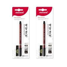 X2 Monami Calligraphy Brush Pen refill ink set new easy kit kanji